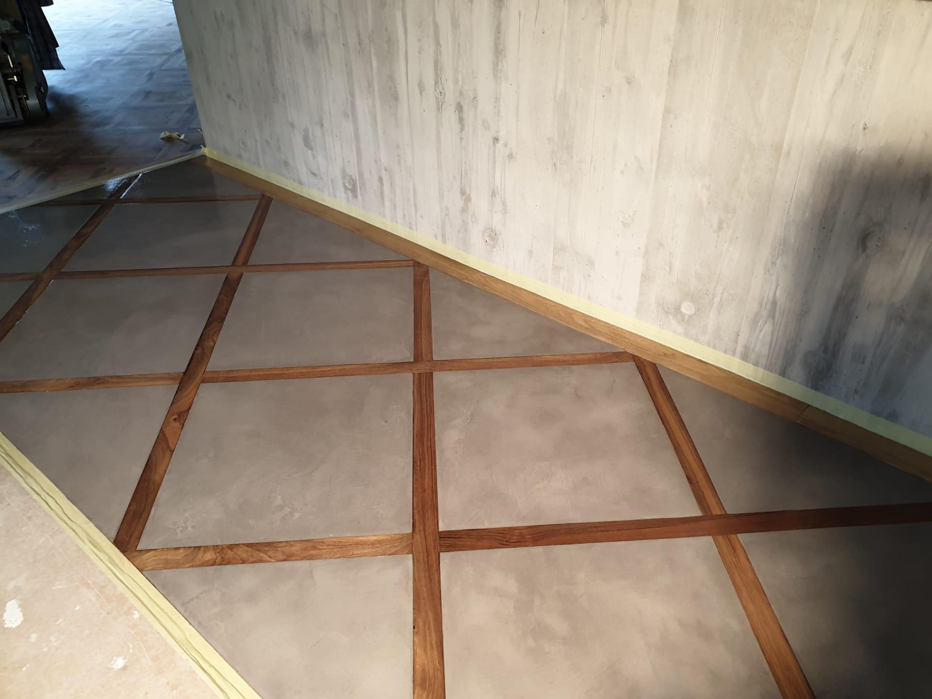1 beton cire a Collonge bellerive